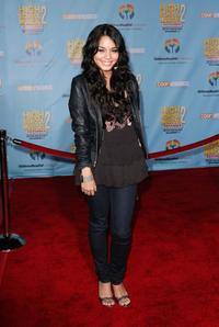 Vanessa Hudgens at the DVD premiere of