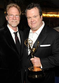 Mark Kaner and Eric Stonestreet at the Fox Broadcasting Company, Twentieth Century Fox Television and FX 2010 Emmy Nominee party.