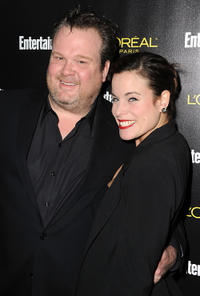 Eric Stonestreet and Katherine Tokarz at the Entertainment Weekly's 17th Annual Pre-Screen Actors Guild Awards party.