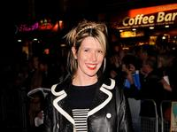 Julia Davis at the premiere of