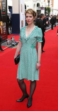 Julia Davis at the Pioneer British Academy Television Awards.