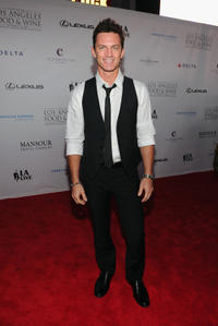 Brandon Johnson at the California premiere of