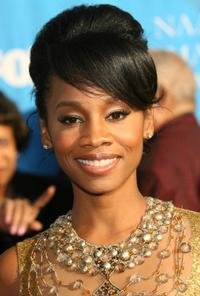 Anika Noni Rose at the 38th annual NAACP Image Awards.