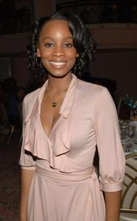 Anika Noni Rose at the 38th NAACP Image Awards nominees luncheon.