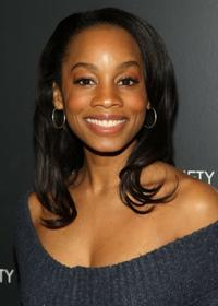 Anika Noni Rose at the New York screening of