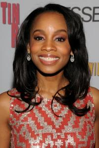 Anika Noni Rose at the after party of the New York opening of
