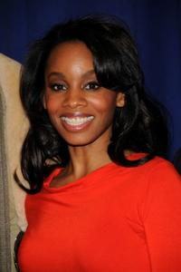 Anika Noni Rose at the cast of Broadway's