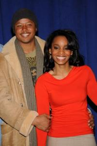 Terrence Howard and Anika Noni Rose at the cast of Broadway's