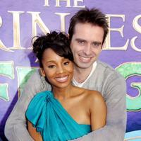 Anika Noni Rose and Bruno Campos at the California premiere of