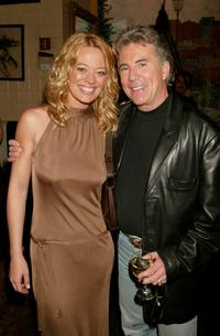 Jeri Ryan and John Walsh at the FOX 2002 Upfronts.