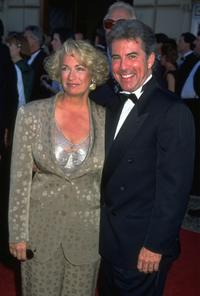 Undated file photo of John Walsh and his wife.