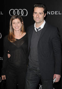 Heather Lieberman and Todd Lieberman at the Audi and Designer J. Mendel's Kick Off Celebration of Golden Globe Week 2011.