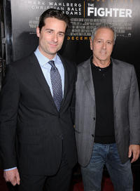 Todd Lieberman and David Hoberman at the Los Angeles premiere of