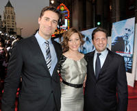 Todd Lieberman, Elizabeth Banks and Max Handelman at the premiere of