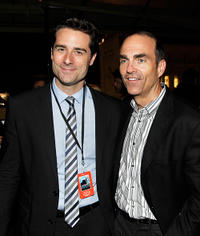 Todd Lieberman and Mark Zordai at the after party of the premiere of