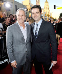 David Hoberman and Todd Lieberman at the premiere of