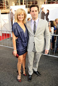Malin Akerman and Todd Lieberman at the premiere of