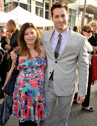 Heather and Todd Lieberman at the premiere of
