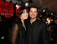 Kristin Burr and Todd Lieberman at the premiere of