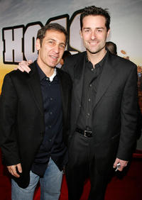 Michael Tollin and Todd Lieberman at the premiere of