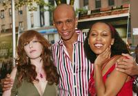 Bridget Barkan, Sydnee Stewart and Ronnie Butler at the premiere of