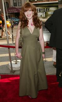 Bridget Barkan at the premiere of