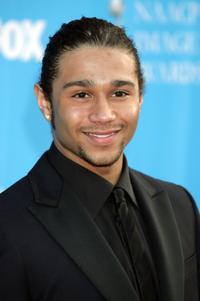 Corbin Bleu at the 39th NAACP Image Awards.