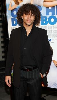 Corbin Bleu at the premiere of