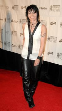 Joan Jett at the 39th annual Songwriters Hall of Fame Awards Dinner.