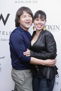 Fairuza Balk and Alvin Valley at the Alvin Valley Fall 2006 fashion show during Olympus Fashion Week.
