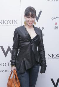 Fairuza Balk at the Alvin Valley Fall 2006 fashion show during Olympus Fashion Week.