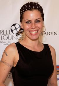 Fairuza Balk at the REEL Lounge Retreat at the Point De Vue Salon.