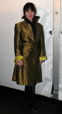 Fairuza Balk at the Zac Posen Fall 2006 fashion show during Olympus Fashion Week.