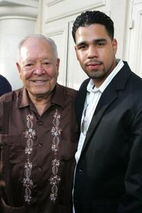 Chalo Gonzalez and J.R. Cruz at the Los Angeles Film Festival premiere of