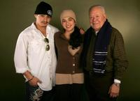 Jesse Garcia, Emily Rios and Chalo Gonzalez at the 2006 Sundance Film Festival.