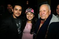 Jesse Garcia, Emily Rios and Chalo Gonzalez at the Sundance Film Festival.