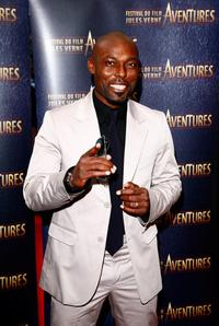 Jimmy Jean-Louis at the Jules Verne Adventure Film Festival.