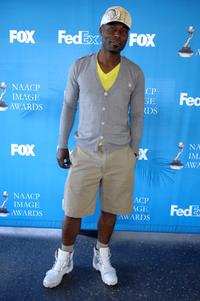 Jimmy Jean-Louis at the celebrity golf challenge to honor the nominees of the 39th Annual NAACP Image Awards.