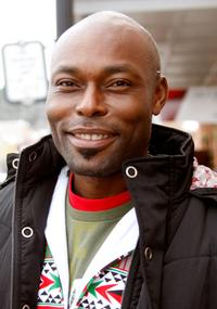 Jimmy Jean-Louis at the 2008 Sundance Film Festival.