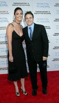 Mark Famiglietti and Guest at the World premiere of