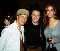 Lane Garrison, Mark Famiglietti and Director Paige Cameron at the Hollywood Film Festival opening night party.