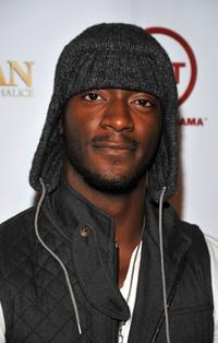 Aldis Hodge at the Wrap Party of TNT's