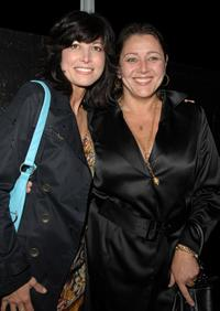 Elizabeth Keener and Camryn Manheim at the season 5 premiere party of
