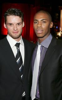 Austin Nichols and Mehcad Brooks at the after party of the premiere of