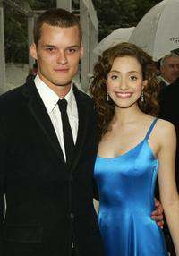 Austin Nichols and Emmy Rossum at the New York premiere of