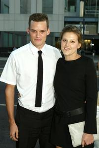 Austin Nichols and his Guest at the world premiere of
