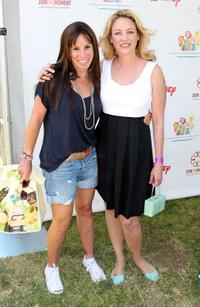 Melissa Rivers and Virginia Madsen at the Time for Heroes Celebrity Carnival Sponsored by Disney.