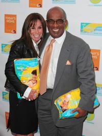 Melissa Rivers and Al Roker at the promotion of