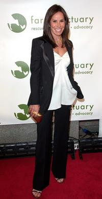 Melissa Rivers at the 2008 Farm Sanctuary Gala.
