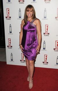 Melissa Rivers at the E! 20th Anniversary party celebrating two decades of pop culture.